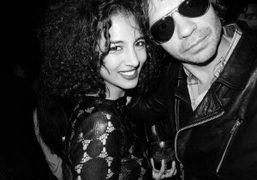 Olivier Zahm and Virginie Darbonat the re-opening of La Vue, Porte Maillot,…