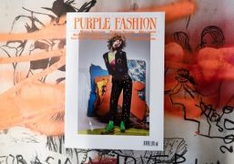 You can now buy the new issue of Purple Fashion magazine online...