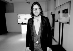 Alessio de Navasques the curator of AltaRoma at the Vogue Talents Corner event,…