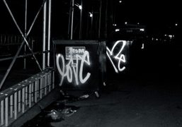 Curtis Kulig's Love Me graffiti is all over New York, New York….