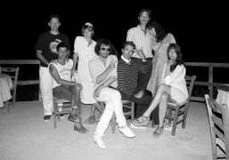 Farewell picture for Vincent Darré and Elie Top with Andrew Richardson, Andre…