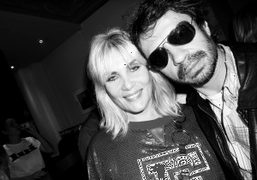 Actress Emmanuelle Seigner and Olivier Zahm at the Lui magazine 2nd anniversary…