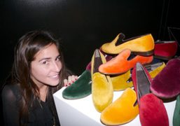 C.B. MADE IN ITALY AT THE VOGUE TALENTS CORNER, MILAN
