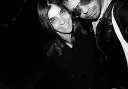 Carine Roitfeld and Olivier Zahm outside of the Ritz, Paris. Photo Olivier…