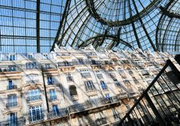 The Architecture of the Chanel S/S 2015 show at the Grand Palais,...