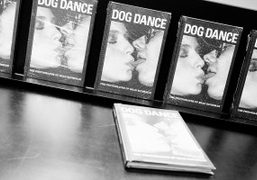 "Brad Elterman's book ""Dog Dance"" at his book signing at Colette, Paris…."