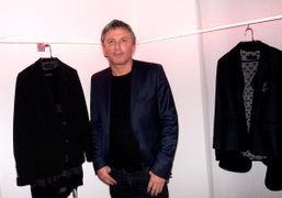 The creative director of Zadig & Voltaire, Thierry Gillier, at their F/W…