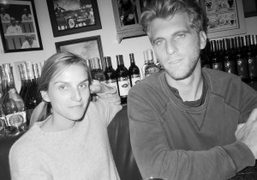Lunch withGaia Repossi and the great young American artist Jeremy Everett at…