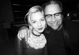 Annabelle Dexter-Jones and Sante D'Orazi at the Zadig et Voltaire dinner to celebrate the Christopher…