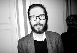 The French actor Melvil Poupaud (with a new beard) at the Yaz Bukey…