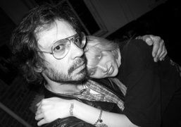 Olivier Zahm and Kay Goldberg at Purple Institute, New York. Photo Olivier Zahm