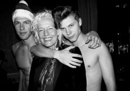 Galore Christmas Party and Third Issue Release at the Billionaire Club, New...