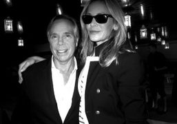 Tommy Hilfiger and his wife, Dee Ocleppo, at the Tommy Hilfiger show, New York. Photo Olivier…
