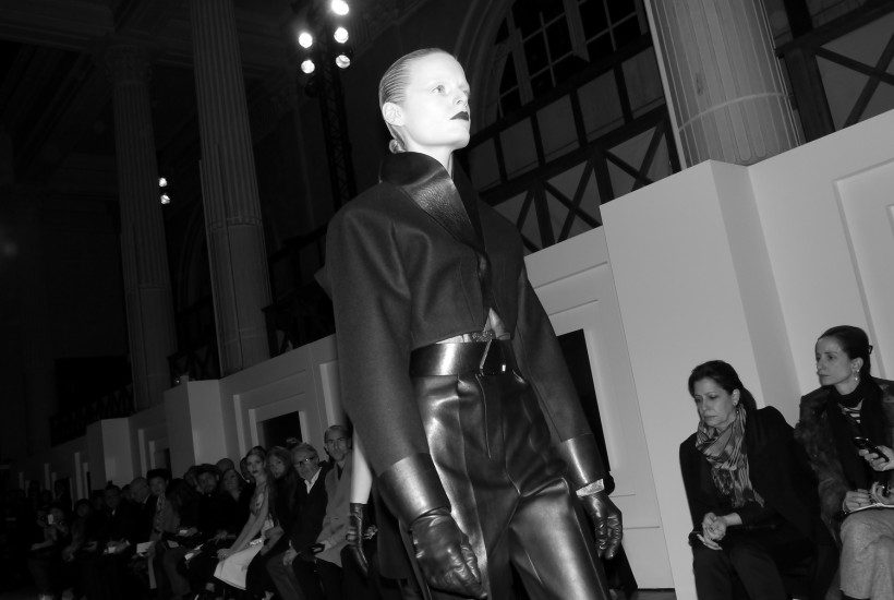 THE POWERFULL LAST COLLECTION OF STEFANO PILATI FOR YVES SAINT LAURENT F/W 2012, Paris