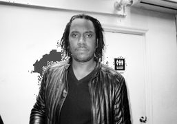 Photographer Rashid Johnson after his screening of his film New Black Yoga at The Bruce High…