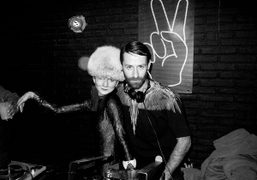 Catherine Baba and Marcelo Burlon djing at Pacino at Titty Twister, Paris….