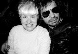 Swedish pop star Robyn and Olivier Zahm at the Waverly Inn, New…
