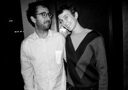 The happy and recently married couplePhilip Andelman and Sarah Andelman at The…