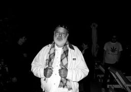 Bruce Weber at his book signing at the Standard Hotel, Miami. Photo…