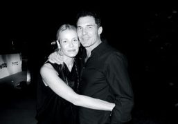 Chelsea Handler and André Balazs at Terry Richardson's book signing and party…