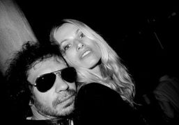 A former model and me at Amy Sacco's Bungalow 8, Venice. Photo…