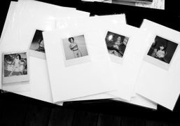 A set of Araki polaroids at Michael Hoppen Gallery's The Splinter Art Fair,…