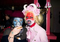 Purple Halloween Party at Paul's Baby Grand (Part I), New York