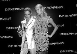 The new Emporio Armani boutique opening, New York