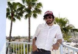 Olivier Zahm at The Standard Hotel West Hollywood. Photo Olivier Zahm