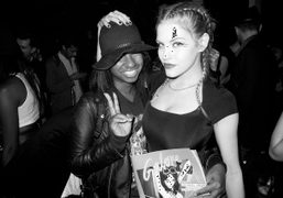 Prince Chenoa and Ashley Smith at the Galore MagIssue #2 party at…