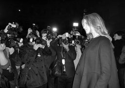 Natalia Vodianova at the Etam F/W 2014 show, Paris. Photo Olivier Zahm