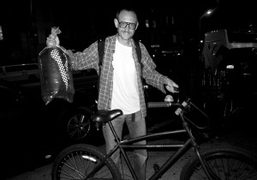My best friend Terry Richardson going back home after a Purple shoot…