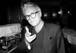 The Italian shoe designer Giuseppe Zanotti at one of my favorite restaurant called…