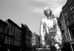 I heard critical comment about the new silver Andy Monument by Rob…