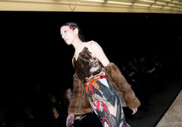 Givenchy F/W 2014 show at Halle Freyssinet, Paris