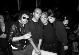 Giuseppe Zanotti Party at the Principe, Milan