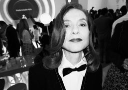 Actress Isabelle Huppert at the Chanel Cruise 2016 show at Dongdaemun Design…