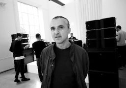 Creative director Kostas Murkudis at the Hache presentation at Via San Francesco…