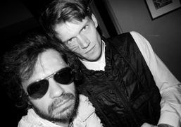 Olivier Zahm and Tom Guinness, the new Fashion Editor ofL'Officiel Homme at…