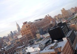 My favorite view of the New York skyline from The Standard Hotel,…