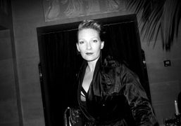 A drink withBetony Vernon at the Hotel Costes, Paris. Photo Olivier Zahm
