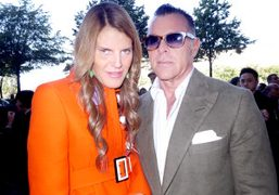 Anna Dello Russo and George Cortina, Paris. Photo Olivier Zahm