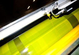 Yellow ink used at the printing of the next Purple Fashion magazine…
