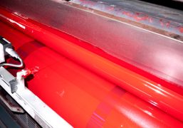 Red ink (best quality) for the printing of the next Purple Fashion…