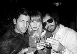 Andre, Annabelle, and Olivier at Le Montana, Paris