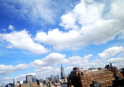 The Chelsea skyline seen from the Standard Hotel, New York.Photo Olivier Zahm