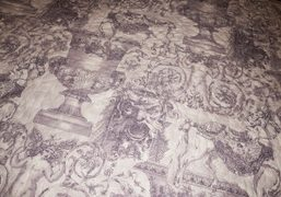 A beautiful quilt lining at the Hotel Hermitage Monte-Carlo, Monaco. Photo Olivier…