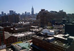 A view of New York from my room at The Standard Hotel,New…