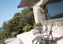 View of my room in André Saraiva's summer house, Bonnieux, Luberon. Photo…