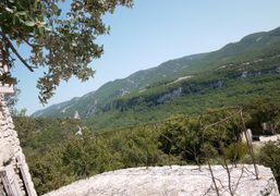 View on the Natural Regional Parc of the Luberon from my room…